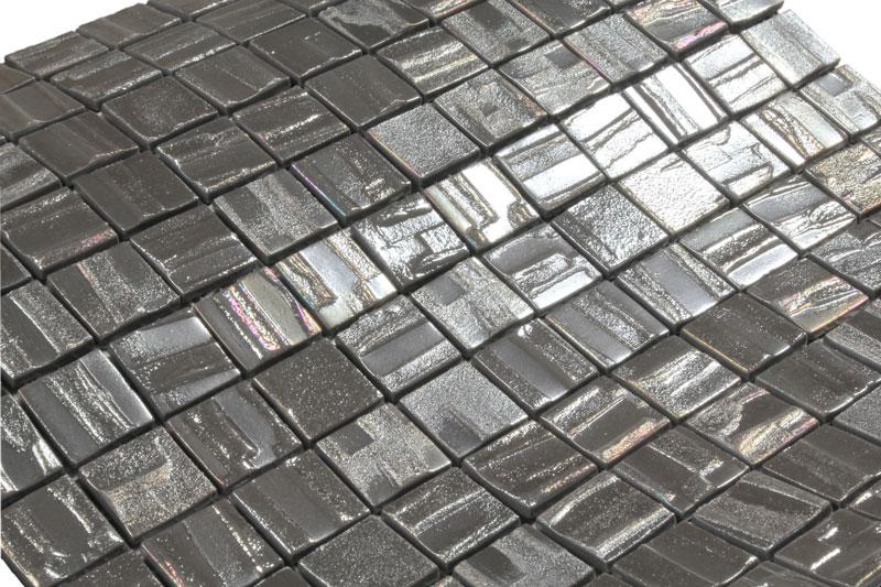 glasmosaik galaxy silver fliesen mosaik mosaikfliesen silber metalliceffekt bad ebay. Black Bedroom Furniture Sets. Home Design Ideas