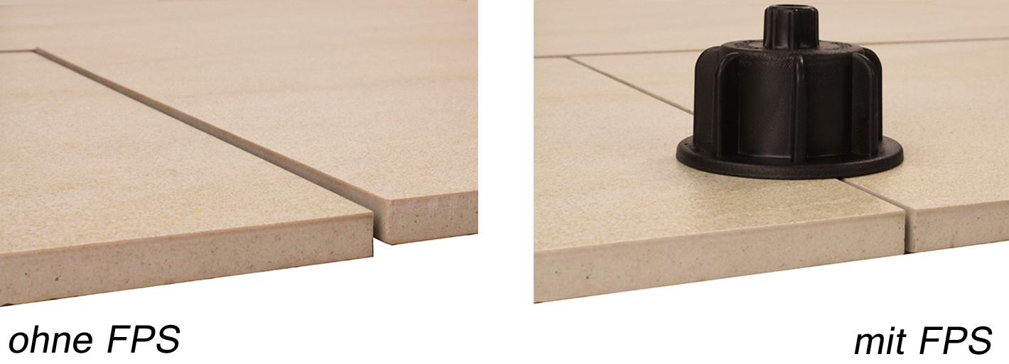 Nivelliersystem FPS Fliesen-Plan-System Gewindestifte 2 mm T-Stück Verlegehilfen